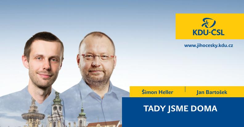 Volební banner KDU-ČSL